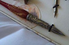 Pen Set W/ Rest Inks NibsBeautiful Calligraphy Pens Italian Art
