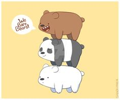We Bare Bears! by ezpups on DeviantArt