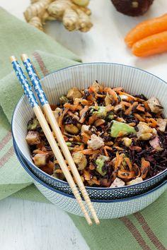 Salade de riz noir 2