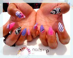 mixed prints #nail #unhas #unha #nails #unhasdecoradas #nailart #gorgeous #fashion #stylish #lindo #cool #cute #fofo #colorido #colorful