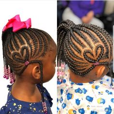Image may contain: one or more people and closeup Black Toddler Girl Hairstyles, Toddler Braided Hairstyles, Little Boy Hairstyles, Cute Hairstyles For Kids, Girls Natural Hairstyles, Natural Hair Styles, Children Hairstyles, Little Girl Braids, Braids For Kids