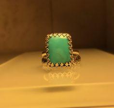 Handmade Turquoise Ring – Emilio & Kate