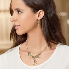 Rosemary Necklace and Earrings - The Met Store