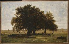 떡갈나무들, 아프르몽 (퐁텐블로숲)