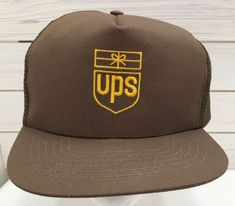 b86cbf68cfd Vintage United Postal Service Brown Mesh Trucker Hat Snapback Flat Bill USA   fashion  clothing  shoes  accessories  mensaccessories  hats (ebay link)
