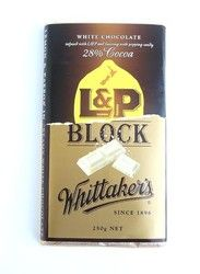 Whittakers L&P White Chocolate Block - whittakers, lp, white, chocolate, new, drink, ... - Shopenzed.com