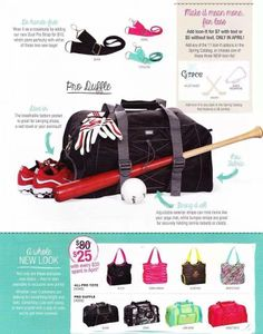 just $25 gym bags and duffle bags. Great idea for moms! Get one for yourself and one for your children!!