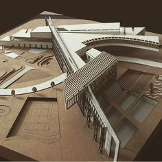 Pin uživatele farah na nástěnce building architecture, archi Architecture Student, Concept Architecture, Facade Architecture, Arch Model, Urban Planning, Arches, Building Design, Exterior Design, Layout