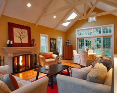 Pics Of Family Room Additions Addition Traditional Bridgeport