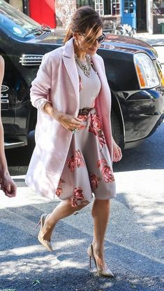 Eva Mendes sporting her new line for NY&Co