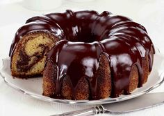 Marble Cake Recipe With Oil.Easy Marble Cake With Oil Flour Spice. The Best Vanilla Cake Recipe Sugar Spun Run. Cake Recipes With Oil, Marble Cake Recipes, Food Cakes, Cupcake Cakes, Cupcakes, Chocolate Glaze Recipes, Chocolate Icing, Chocolate Sauce For Cake, Chocolate Bundt Cake Glaze