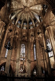 Barcelona Cathedral in the Barri Gothic