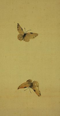 two butterflies .on one scroll. Graphic Illustration, Illustrations, Do It Yourself Kit, Butterflies, Restoration, Graphics, Japanese, Patterns, Block Prints