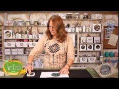 """Art Craft - Tutorial 05 / Mara Benini - Falsos Acabados """"Hierro con verdín"""" - YouTube"""
