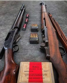 M1 Garand, Ww2 Weapons, Battle Rifle, Home Defense, Hunting Rifles, Firearms, Shotguns, Cool Guns, Military Weapons