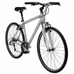 Nashbar Trekking Bike. Second bike (hybrid) for rougher terrain.