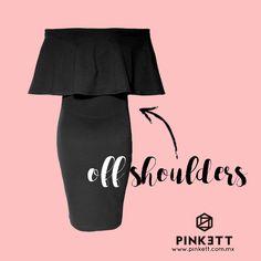 El vestido perfecto, con la tendencia #must de la temporada #offshoulders. Y tienes el tuyo???