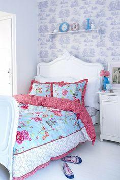 Tudo lindo neste quarto de menina!