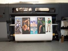 poster paper prints on our HP FB500 printer  www.greatsigns.ca