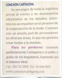 Reseña en la Revista Novias