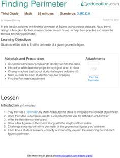 Lesson Plans for Third Grade   Education.com