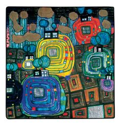 814 Pavilions and Bungalows for Natives and Foreigners - Friedensreich Hundertwasser