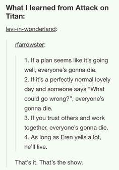 EVERYONE'S GONNA DIE. PERIOD.