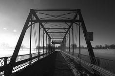 Winter Bridge by Mark Heine Photos, via Flickr