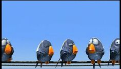 Inferencing:  Disney Pixar - For the Birds