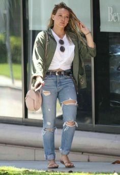 Fall Outfits, Casual Outfits, Cute Outfits, Celebrity Outfits, Celebrity Style, Hilary Duff Style, Hilary Duff Fashion, Girl Fashion, Fashion Outfits