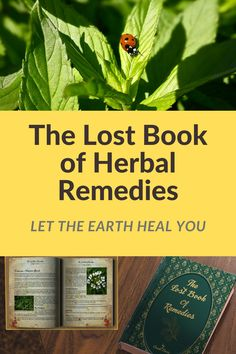 """The Lost Book of Remedies"" is over of our forefathers' most powerful natural cures that have been lost to history. Wellness Fitness, Health Fitness, Liposuction, Alternative Medicine, Natural Medicine, Natural Cures, Side Effects, Herbal Remedies, Self Improvement"