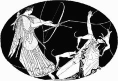 Diana mýtická bohyňa lovu - Hľadať Googlom