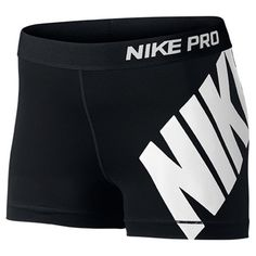 Women's Nike Pro Logo 3 Inch Shorts