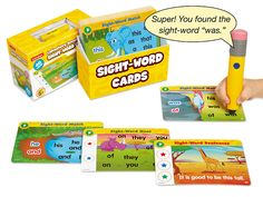 $30 Sight-Word Smart Pencil Interactive Learning Cards