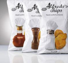 Elio Carmi - Packaging design - Amica Chips