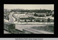 Southern Pacific train and grounds, Santa Monica, Calif., 1890