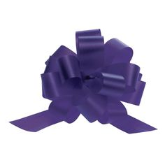4' Pull Bows Purple 50 per case * You can find more details by visiting the image link.