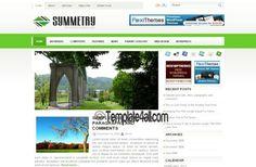WordPress Themes - Green WordPress Template #WordPress #green #WordPressthemes