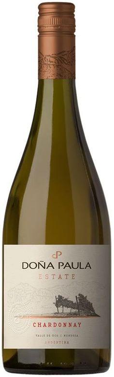 """""""Doña Paula Estate"""" Chardonnay 2013 - Bodega Doña Paula, Luján de Cuyo, Mendoza---------------------------------- Terroir: Gualtallary (Tupungato)---------------------- Crianza: 6 - 8 meses en barricas de roble francés nuevas"""