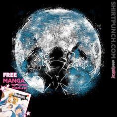 """""""Male Gamer"""" by Fanfreak is $10 today at ShirtPunch.com (02/03). #tshirt #SwordArtOnline #Kirito #KirigayaKazuto #Gamer #Anime #Manga"""