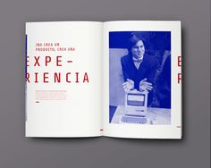 Revista (Fascículo) - Steve Jobs by Estefanía Leiva, via Behance