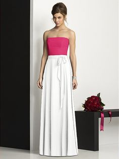 After Six Bridesmaids Style 6677 http://www.dessy.com/dresses/bridesmaid/6677/#.Ue3PJT2DQuo
