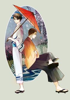 Kids on the Slope { Sakamichi no Apollon } ~~ The boys wearing traditional clothing :: Gorgeous fanart
