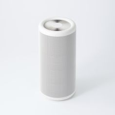 A 360-degree and 3-layer filtration design allows the new Muji Air Purifier to pull in dust and odors adaptively with an array of sensors.