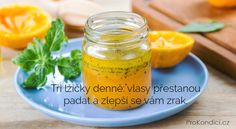 Ti liky denn vlasy pestanou padat a zlep se vm zrak ProKondicicz Healthy Weight Loss, Cantaloupe, Food And Drink, Fruit, Hair, Beauty, Fitness, Diet, Health
