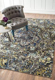 Bursting with stunning detail and color! Visit Rugs USA for truly wonderful savings of 70% off and a wide selection of rugs!