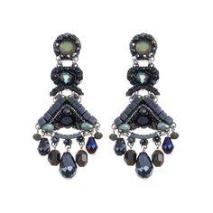 Setty Gallery - Ayala Bar Midnight Voodoo Enchanted Earrings, $177 (http://www.settygallery.com/ayala-bar/ayala-bar-midnight-voodoo-enchanted-earrings/)