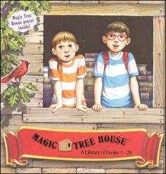 Magic Tree House Library Box Set: Books 1-28   Main photo (Cover)
