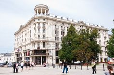 Bristol Hotel in Warsaw capital of Poland