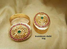 Kumkum box  Onegram gold kumkumbox  http://ift.tt/2pBambQ